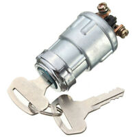 Universal Replacement Ignition Switch Lock Cylinder with 2 Keys For Car Auto CL