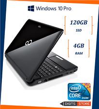 pc portatile i7 usato notebook ricondizionato SSD 12 pollici Fujitsu Windows 10