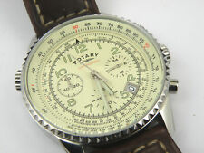 Men's Rotary GS03447/08 Military Chronograph Watch - 100m