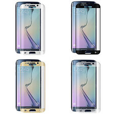 Completo curvo 3d De Vidrio Templado Protector De Pantalla Lcd Para Samsung Galaxy S6 Edge