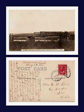 CANADA SASKATCHEWAN MACOUN STEEL BRIDGE SOURIS RIVER 1915 TO LA HARPE ILLINOIS