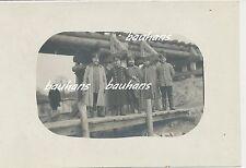 Polen bei Koniecpol-Schlesien-Eisenbahnbrücke-Offiziere der A.A.Woyrsch (c395)