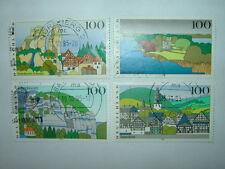 1995 GERMANY LANDSCAPES 3rd SERIES FULL SET x 4 VFU (sg2646-9) CV £5