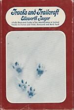 Tracks ande Trailcraft Guide Illustrated ID Animal Tracks Lore Jaegar 1967