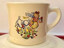 """Rare Vintage"""" Mary Had A Little Lamb"""" Cup & Saucer Very Good Condition"""