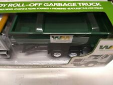First Gear Garbage Truck 1/24 Mack Granite Waste Management Roll-Off new