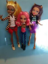 Monster High doll Wolf Family A Pack of Trouble Clawdia Clawdeen Howleen sisters