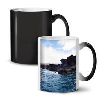 Rock Ocean Novelty NEW Colour Changing Tea Coffee Mug 11 oz | Wellcoda
