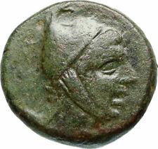 Amisos in Asia Minor 300BC Rare Ancient Greek Coin Pegasus Hero Perseus i46738