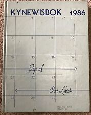 1986 GUTHRIE HIGH SCHOOL YEARBOOK ANNUAL OKLAHOMA OK