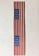 "GAR, Post Civil War Medal, Model Ship, American Flag, Vintage Ribbon 3"" Length"