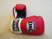 Gants de boxe KING Rouge/Blanc 14oz boxing gloves (Fairtex, TWINS, Yokkao)
