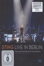 "STING ""LIVE IN BERLIN"" BLU RAY NEW+"
