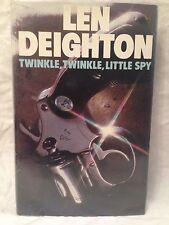 Len Deighton - Twinkle Twinkle Little Spy - 1st/1st 1976 in Original Dustwrapper