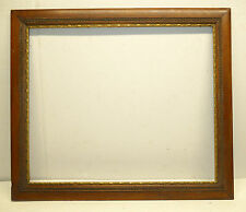 Handsome Antique 1800's Gilded Insert Mahogany Document Frame  24 x 20