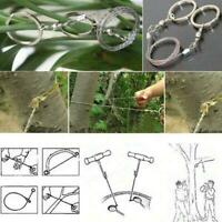 Multifunctional Portable Life Chain Saw Stainless Steel Wire Saw Cutter Pretty