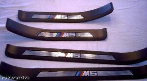 BMW Genuine E39 5 Series Sedan Touring 1997-2003 M5 Door Sill Tread Plates NEW