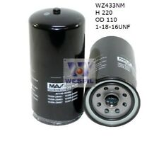 WESFIL OIL FILTER FOR Nissan UD CMA81, CMA86, 5.7L D 1983-1990 WZ433NM