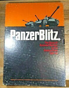 PanzerBlitz - Avalon Hill (1970) Bookcase Game (G5013)