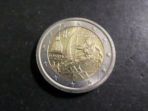 ITALIE - PIECE de MONNAIE de 2 euro 2006, JEUX OLYMPIQUES HIVER TORINO, VF COIN
