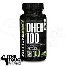 NUTRABIO - DHEA 100mg 60caps - Testosterone Booster - Increases Muscle Strength