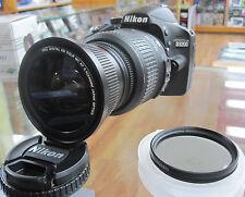 Fisheye Macro for Nikon D5100 D3100 D3000 d5000 D40X  D7000  4 Lens kit UV C-PL