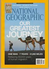 NATIONAL GEOGRAPHIC Magazine Dec 2013, + Free POSTER OF CLASSIC COVERS.