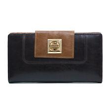 New Anais Gvani Women Handbag Genuine Leather Bifold Wallet Credit Card Case