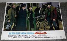 CHUKA lobby LUCIANA PALUZZI/ROD TAYLOR/VICTORIA VETRI original 11x14 card