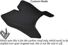 FIBRA Di Carbonio Vinile accoppiamenti personalizzati Motohispania RX 125 R 09-14 Sedile Anteriore Coperchio