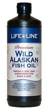 Wild Alaskan Fish Oil 32oz Fresh Premium Omega 3 EFA (similar to Salmon Oil)