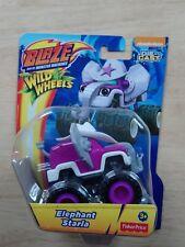 Blaze and the Monster Machines Die Cast wild wheels elephant starla brand new!