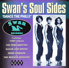 "Naomi Wilson/The 3 Degrees+ - Swan's Soul Sides ""Dance The Philly"" - CDKEND 120"