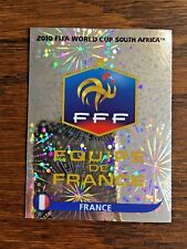 FRANCE TEAM PANINI FOIL STICKER, WORLD CUP SOUTH AFRICA 2010 #SA88