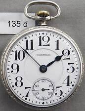 Vintage Waltham 21 Jewel, Grade 645, Railroad Pocket Watch