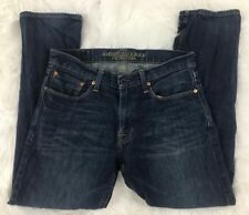 American Eagle Outfitters Mens Slim Straight Fit Blue Denim Jeans Size 32W x 28L