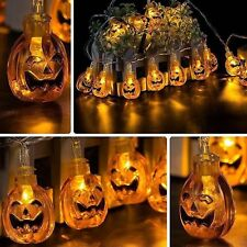 30 Pumpkins LED String Light Pumpkin Lights for Halloween Decoration Party UK