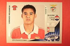 PANINI CHAMPIONS LEAGUE 2012/13 N. 467 MELGAREJO BENFICA BLACK BACK MINT!