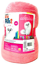 Franco Manufacturing Co The Secret Life Of Pets 46 In X 60 In Soft Plush Throw