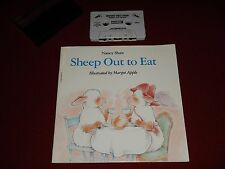 Nancy Shaw : Sheep Out to Eat - Illustrated by Margot Apple Book & Cassette Tape
