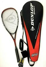 DUNLOP SQUASH RACQUET RACKET TOURNAMENT OF CHAMPIONS RARE 140g HOT MELT CARBON