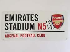 Laurent Koscielny Hand Signed Arsenal Street Sign Emirates Stadium.