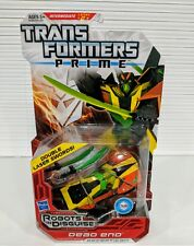 TRANSFORMERS PRIME ROBOTS IN DISGUISE DEAD END DOUBLE LASER SWORDS *NEW*MINT*