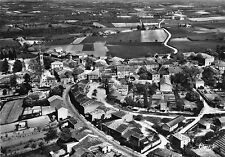 Carte BOURG DE VISA Vue panoramique aérienne