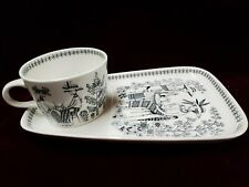 Emilia by Arabia of Finland Snack Cup and Saucer
