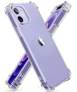 TEMPERED GLASS & Case for iPhone 13 11, 12 , PRO MAX , Full Protective Cover