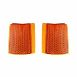 NEW PAIR OF SIDE MARKER LIGHTS FITS GMC C1500 C2500 SUBURBAN GM2550148 GM2551148