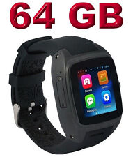 Enox WSP88 V2 Android 4.4 Smartwatch Smartphone Handyuhr 64GB Bluetooth WLAN GPS