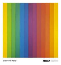 Spectrum IV by Ellsworth Kelly Art Print MOMA Poster 30x28 Out of print Last one