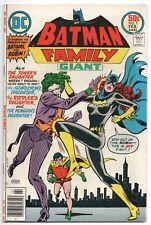 Batman Family 9 DC 1977 FN VF Batgirl Robin Batgirl Jokers Daughter Riddler